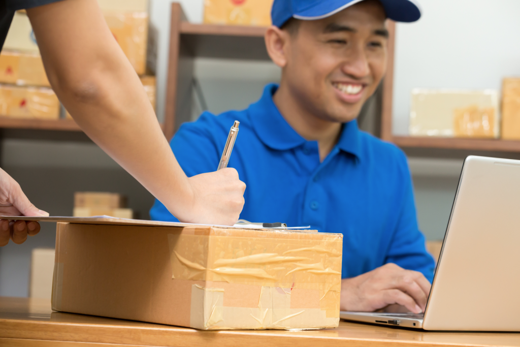 A company integrating tracking for its holiday shipments.